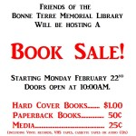 Bonne Terre Memorial Library Book Sale